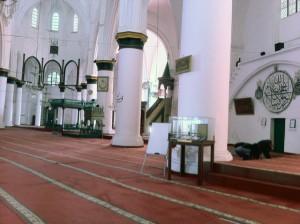 北ニコシア(レフコシャ)のモスク。南はギリシャ正教、北はイスラム教である