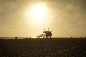 西海岸のビーチ。違う国に来たようでした。