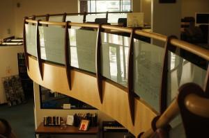 MIT Music Library。新学期前なのでまだ人も少なく静かです。